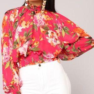 Brand New Fashion Nova Blousa